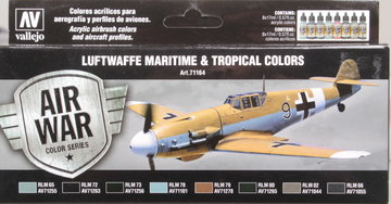 Air War Luftwafe Maritime & Tropical Colors