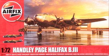 Airfix Handley Page Halifax B.III  1:72