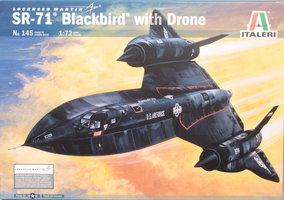 Italeri  SR-71 Blackbird with Drone 1:72