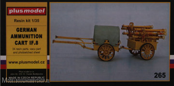 Plusmodel Plastic Modelbouw  German Ammunition Cart IF.8   1:35