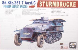 AFV Sd.Kfz 251/7 Ausf.C Sturmbrucke  1:35