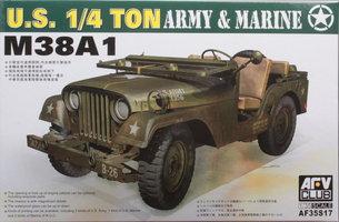 AFV Club M38A1  U.S 1/4 ton  1:35