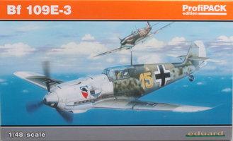 Eduard Messerschmitt Bf 109E-3 1:48 ProfiPack