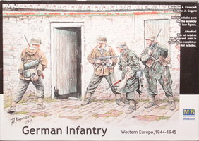 Masterbox	German Infantry  1:35