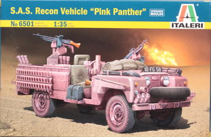 Italeri S.A.S. Recon Vehicle