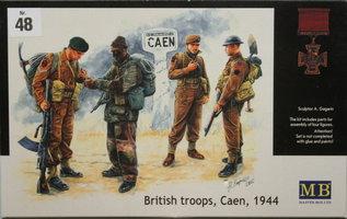 MasterboxBritsh Troops Caen,1944 1:35