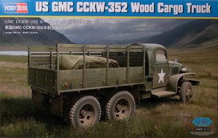 HobbyBoss US GMC CCKW-352 Wood Cargo Truck 1:35