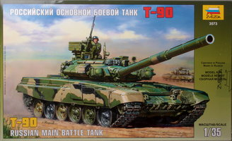 Zvezda T-90 Russian Main Battle Tank 1:35