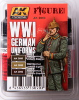 AK Figure paint set WW1 German Uniforms