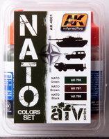 AK AFV Paint NATO Color Set