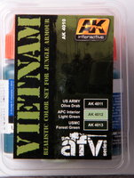 AK AFV Paint Set Vietnam Jungle Armour