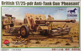Bronco British 17/25-pdr Anti-Tank Gun 'Pheasant' 1:35