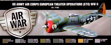 Air War US Army Air Corps European Theather Operations(ETO) WW2