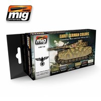 Ammo By Mig Set Early German Colors