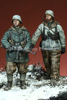 Alpine Miniatures 35113 WSS Grenadier Late War Set 1:35