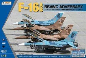 Kinetic F-16A/B NSAWC Adversary  1:48