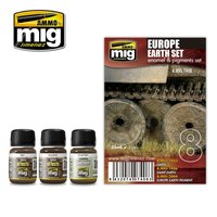 Ammo by Mig  Weathering  Europe Earth Set