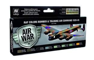 Air War  RAF Colors Bomber & Training Command 1939-45