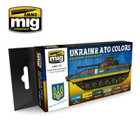 Ammo by Mig  Set  Ukraine ATO Colors
