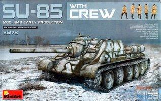 Miniart SU-85 Mod 1943 Early Production 1:35