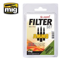 Ammo by Mig  Filter set Green Vehicles