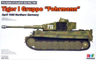 Rye Field Model Pz.kpfw.VI  Ausf.E Sd.Kfz.181 Tiger I  1:35