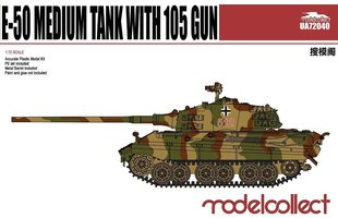 Modelcollect  E-50 Medium Tank With 105mm Gun  1:72