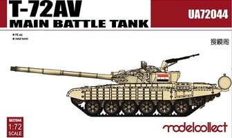 Modelcollect  T-72AV Main Battle Tank   1:72