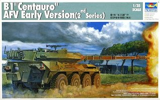 Trumpeter B1 Centauro AFV Early Version 1:35