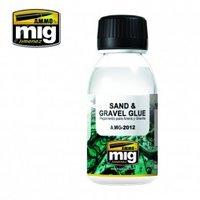 Ammo by Mig Sand & Gravel glue  100ml
