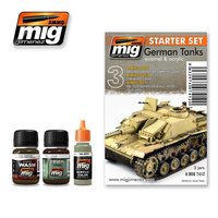 Ammo by Mig Starter Set German Tanks Colors