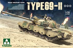Takom Type 69-II  Iraqi Medium Tank  1:35
