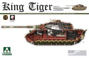 Takom King Tiger Sd.Kfz.182 Henschel Turret w/Zimmerit 1:35