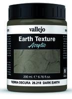 Vallejo Water Stone & Earth; Dark Earth 200ml