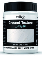 Vallejo Water Stone & Earth; Ground Texture White Stone 200ml