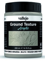 Vallejo Water Stone & Earth; Ground Texture Rough Grey Pumice 200ml