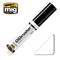 Ammo by Mig Oilbrusher White 10ml