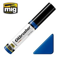 Ammo by Mig Oilbrusher Dark Blue 10ml
