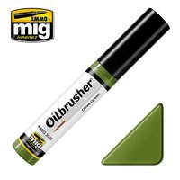 Ammo by Mig Oilbrusher Olive Green 10ml