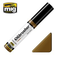 Ammo by Mig Oilbrusher Dark Mud 10ml