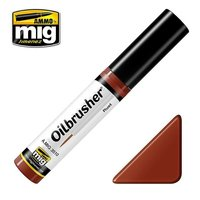Ammo by Mig Oilbrusher Rust 10ml