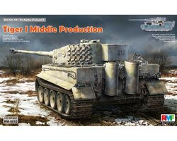 Rye Field Model Pz.kpfw.VI Ausf.E  Tiger I Middle Production Full Interior    1:35