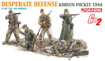 Dragon Desperate Defense Korsun Pocket 1944  1:35