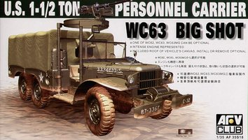 AFV Club U.S. 1-1/2 Ton Personnel Carrier 1:35
