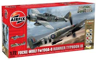 Airfix Focke-Wulf Fw190A-8/Hawker Typhoon  1:72
