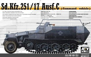 AFV German Sd.Kfz.251/17 AusF.C Command Vehicle 1:35