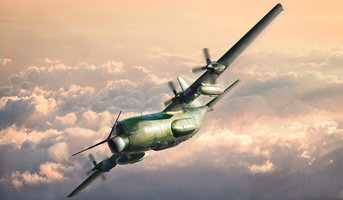 Italeri  MC-130E Hercules Combat Talon I 1:72