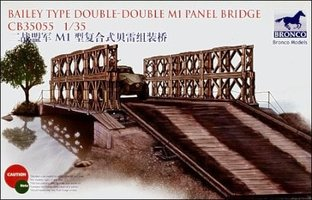 Bronco Bailey  type Double-Double M1 Panel Bridge   1:35