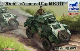 Bronco Humber Armored Car Mk.III 1:35
