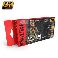 AK US Army soldier Uniform Colors